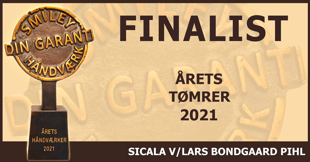 SiCaLa er blevet finalist til Årets Håndværker 2021